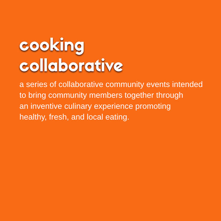 Cooking Collaborative Poster
