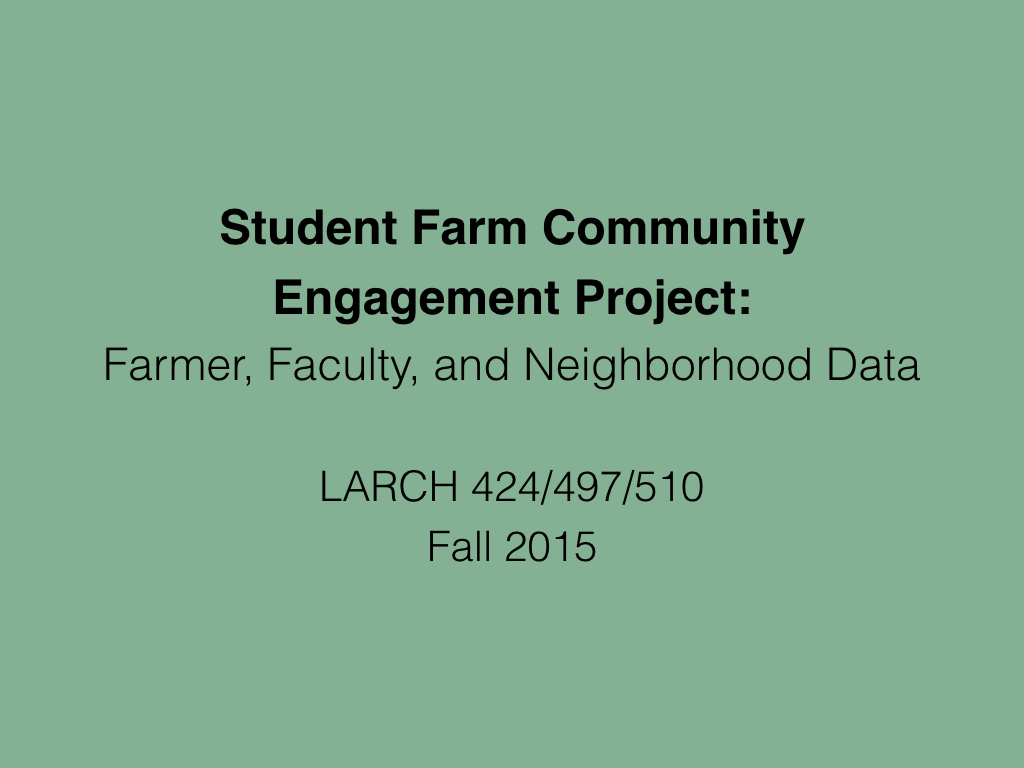 Community Engagement Research