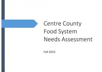 Centre County Food Assessment