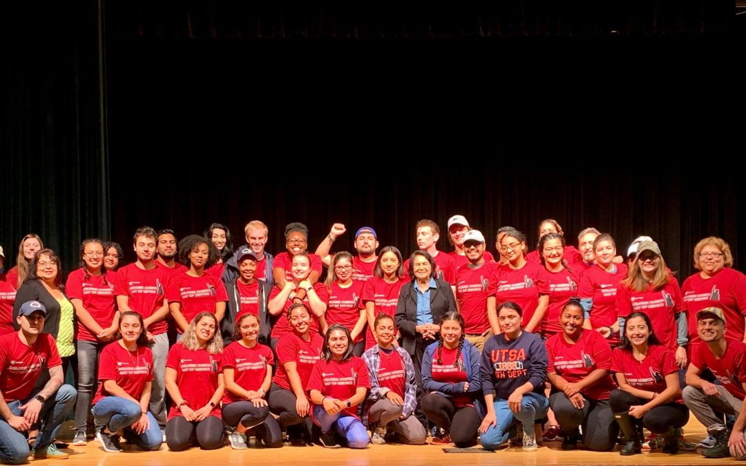 Keynote Speaker and Day of Service With Dolores Huerta
