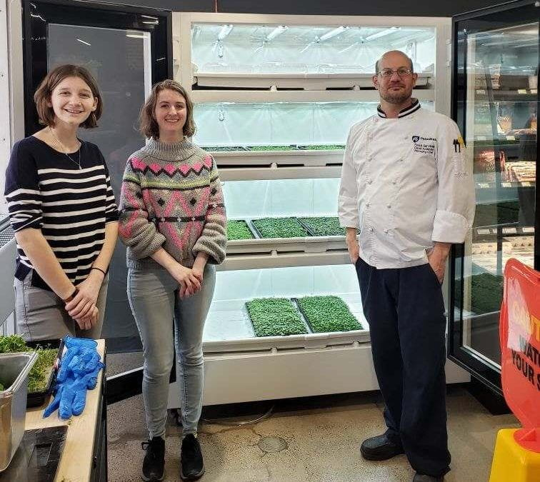 Urban Cultivators: Fresh Produce On-Campus!